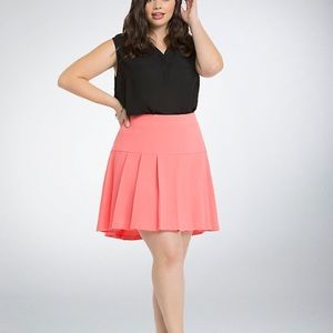 Torrid Pleated Mini Skirt